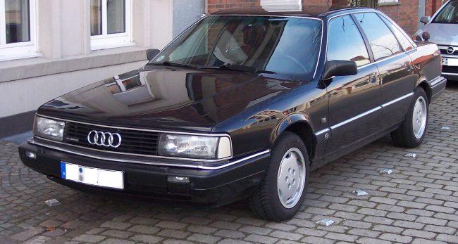 Второе поколение Audi 200