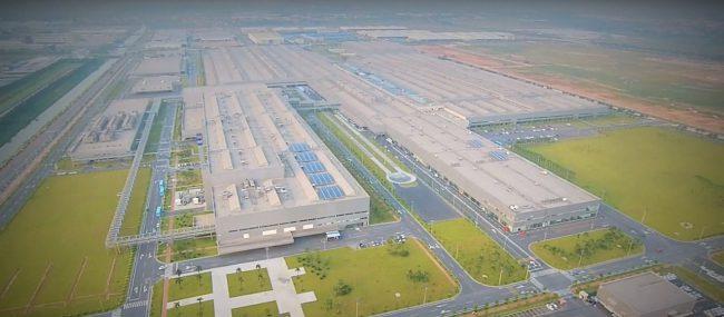 Автогигант для сборки машин VW/Audi в китайском Фошане