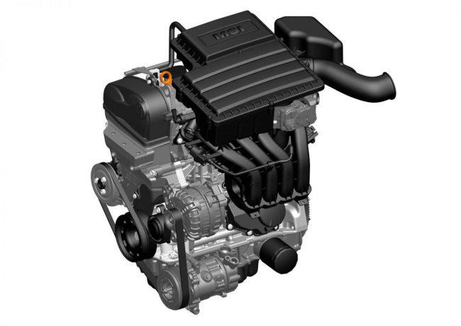 Двигатель CWVA, собираемый на заводе в Калуге