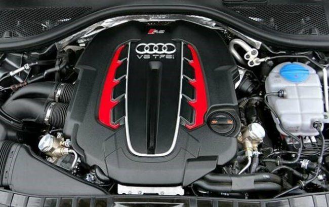 Двигатель V8 4,0 TFSI