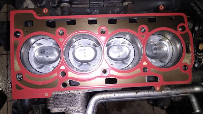Капитальный ремонт двигателя CAXA