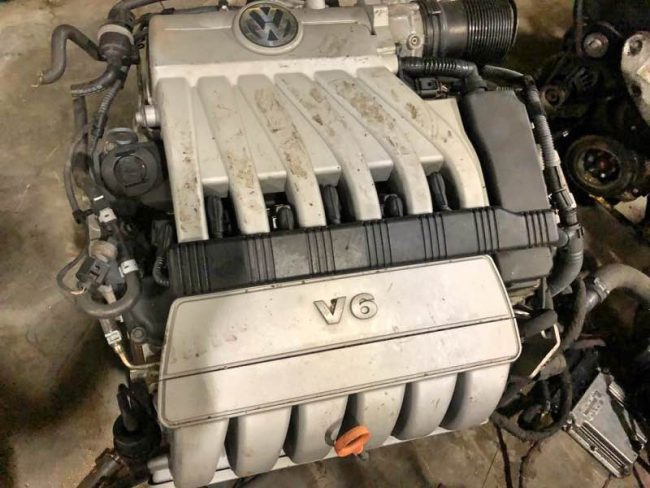 Мощный двигатель AXZ