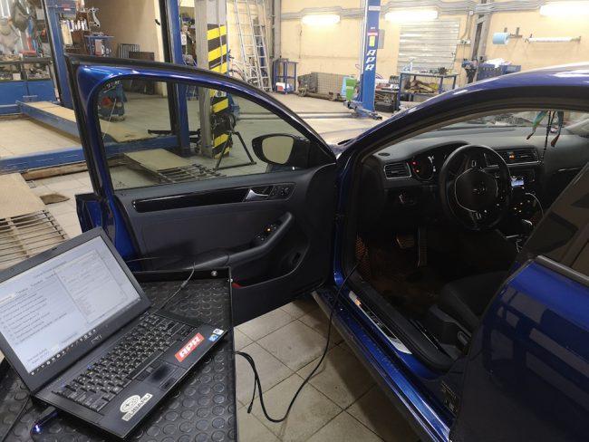 Перепрошивка ЭБУ Volkswagen Polo в тюнинг-ателье