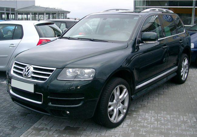 Первое поколение Volkswagen Touareg