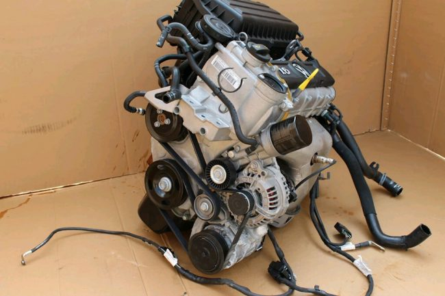 Подготовленный для свапа двигатель