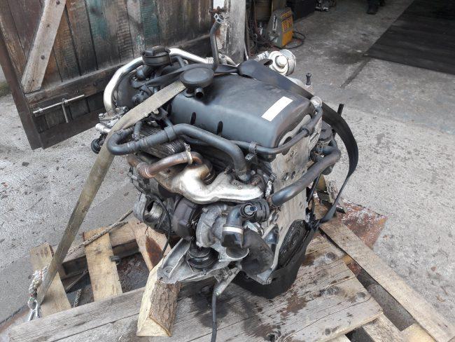 Подготовленный для свапа силовой агрегат от Volkswagen Touareg
