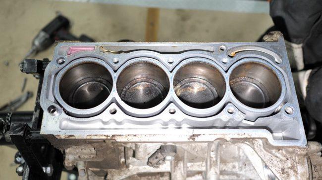Процесс капитального ремонта силовой установки Volkswagen Polo