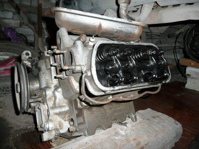 Процесс ремонта двигателя DG