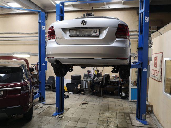Процесс свапа двигателя на Volkswagen Polo
