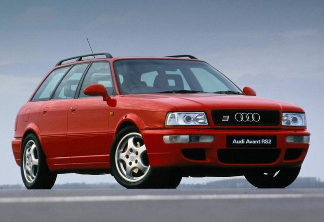 Первый автомобиль в серии – RS2 Avant (1994)