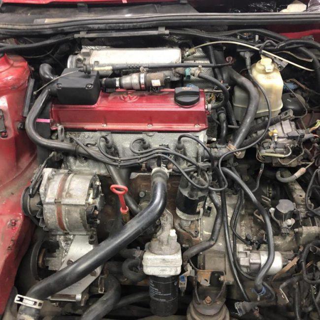 Свап двигателя VAG 2E