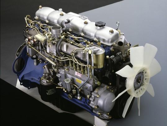 Двигатель Toyota 2H