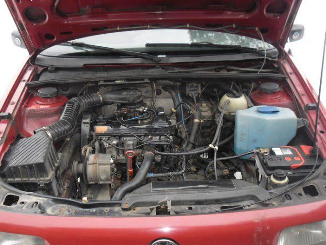 Volkswagen Passat с двигателем VAG 2E