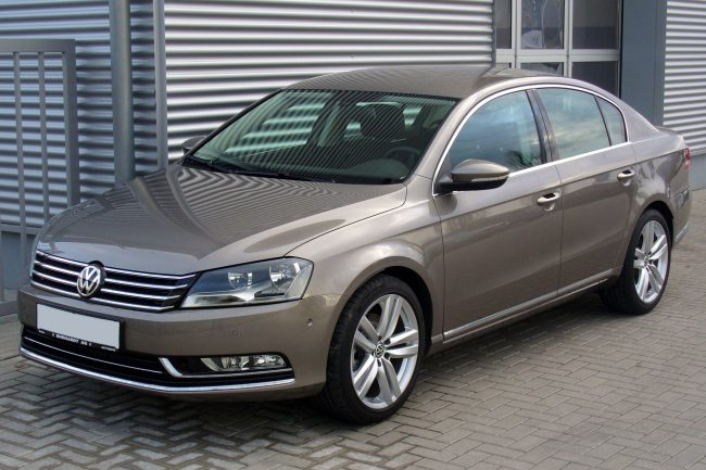 Volkswagen Passat седьмого поколения