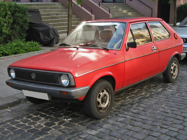 Volkswagen Polo первого поколения