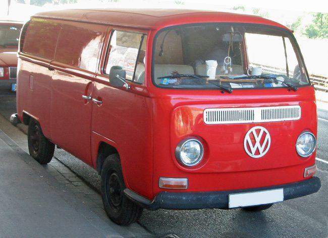Volkswagen Transporter второго поколения