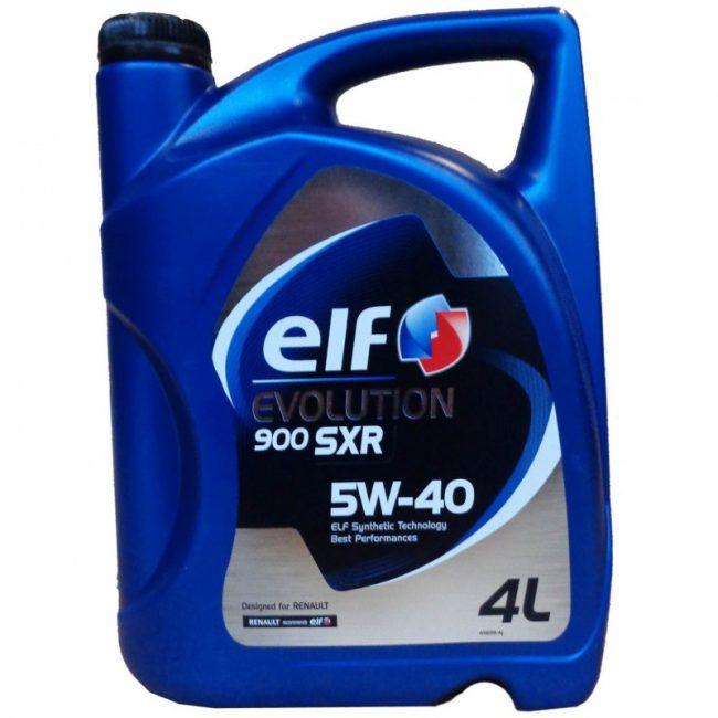 Elf Evolution SXR 5W40