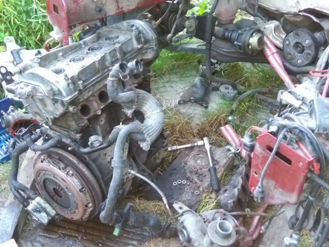 Переборка мотора Volkswagen Jetta
