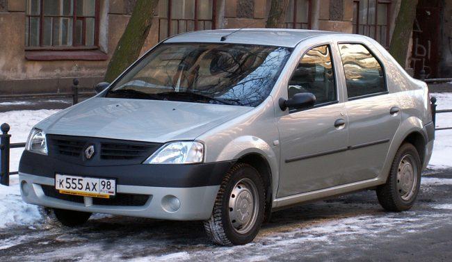Первое поколение Renault Logan