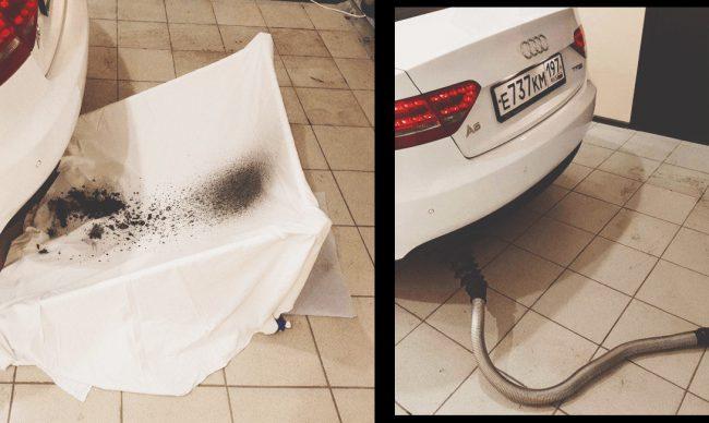 Пыль – один из элементов загрязнения двигателя