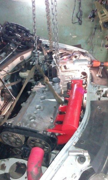 Свап силового агрегата на Renault Logan