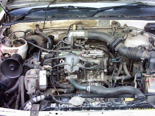 Мотор Toyotа 1S