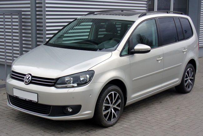 Volkswagen Touran после второго рестайлинга