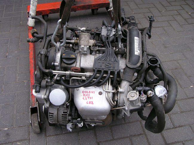 Один из новых экономичных двигателей – 1,2 TSI с заводским кодом CBZB