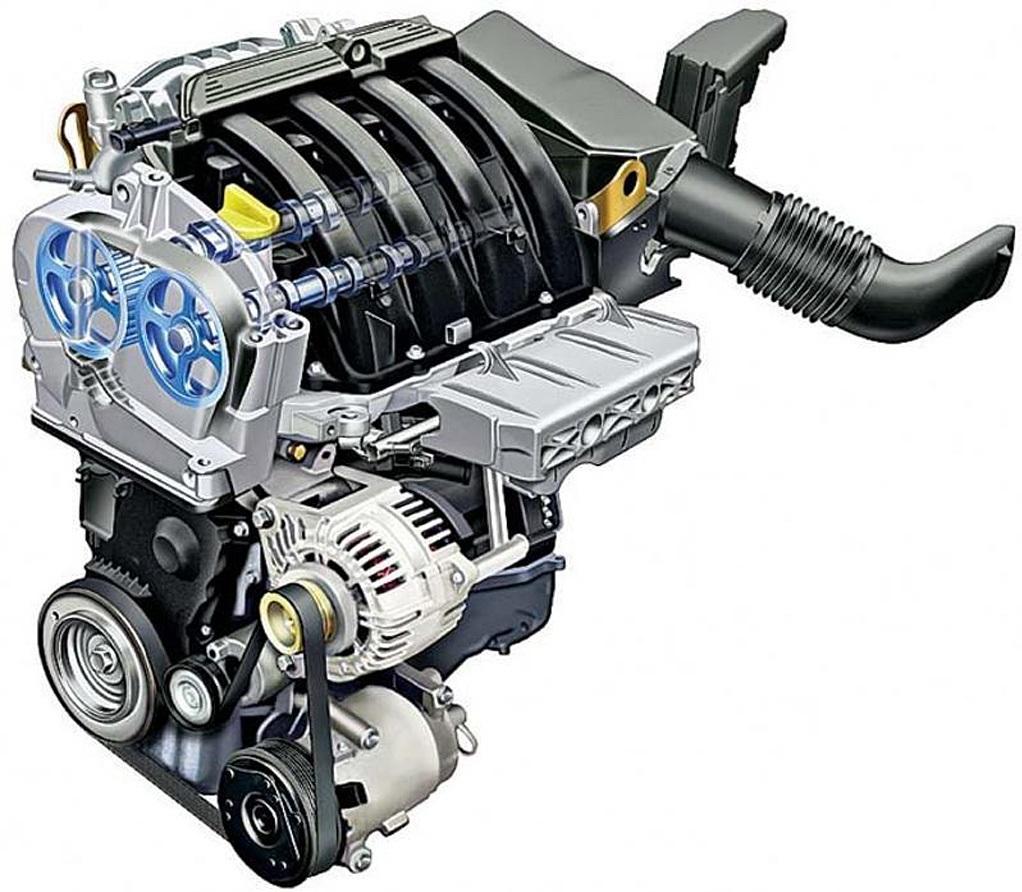 Двигатель K4M