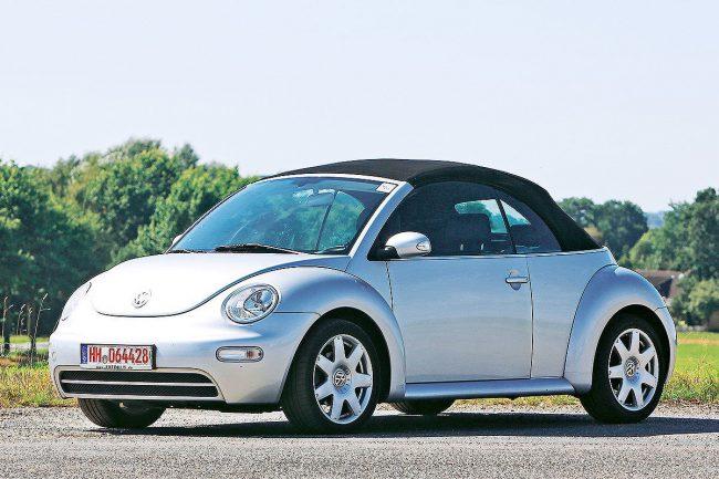 Кабриолет Beetle с тканевой крышей (2011 г.)