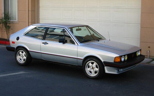 Первое поколение Volkswagen Scirocco