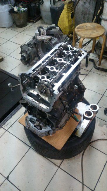 Разборка двигателя CCZB