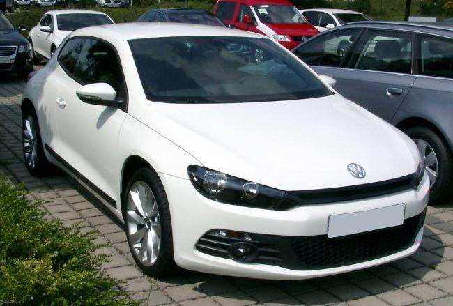 Третье поколение Volkswagen Scirocco
