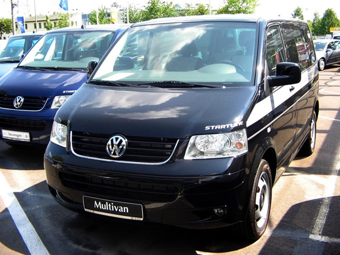 Третье поколение Volkswagen Multivan