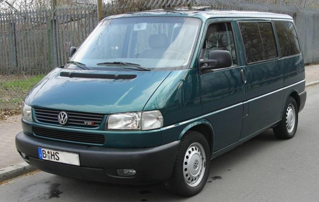Второе поколение Volkswagen Multivan