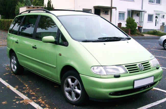 Volkswagen Sharan первого поколения