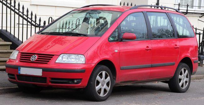 Volkswagen Sharan после рестайлинга