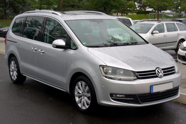 Второе поколение Volkswagen Sharan