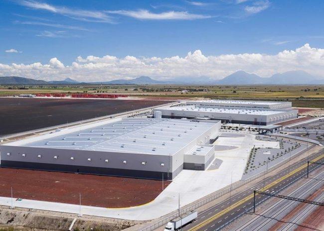 Завод Volkswagen в мексиканской Пуэбле