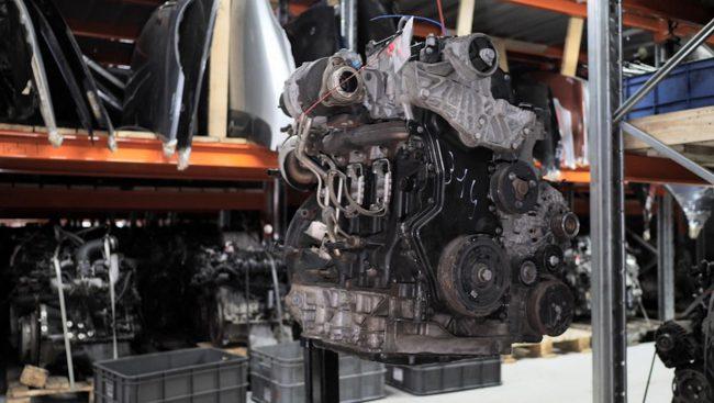 Дизельный мотор M9R