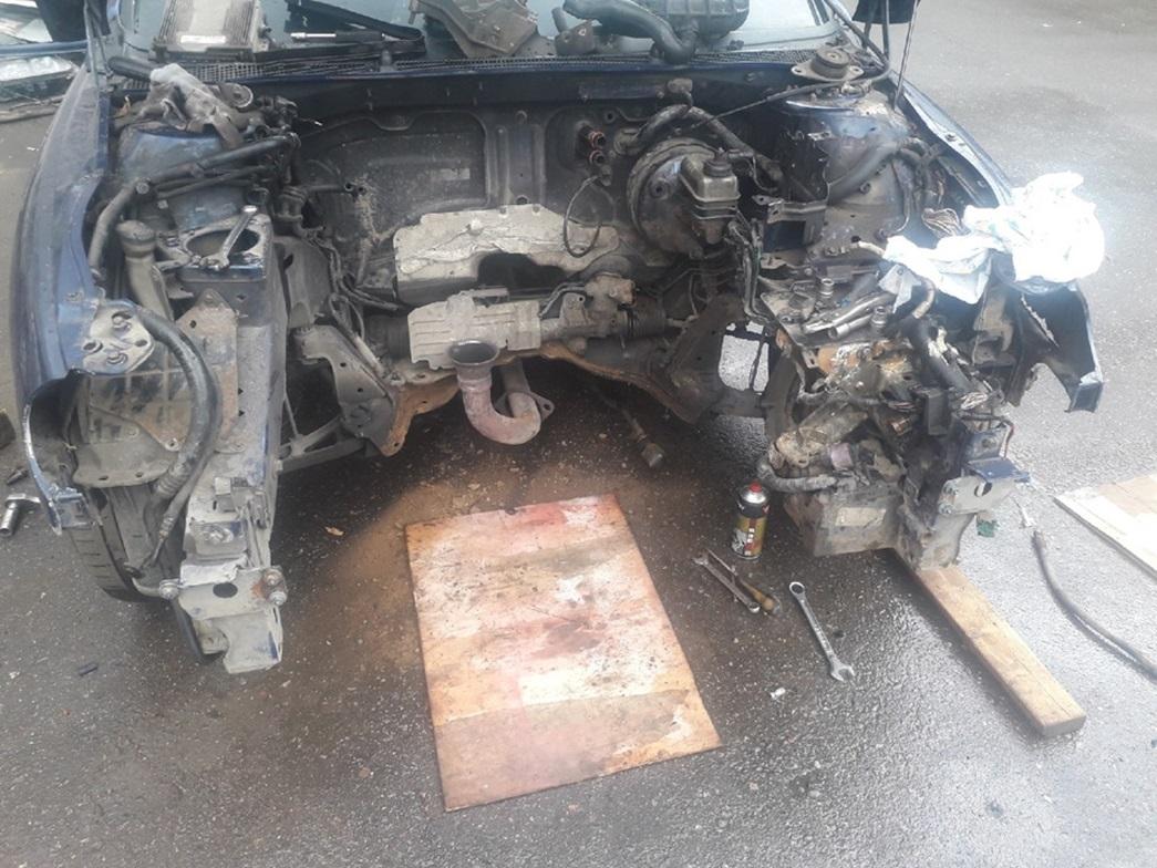 Подготовка Renault Laguna к свапу