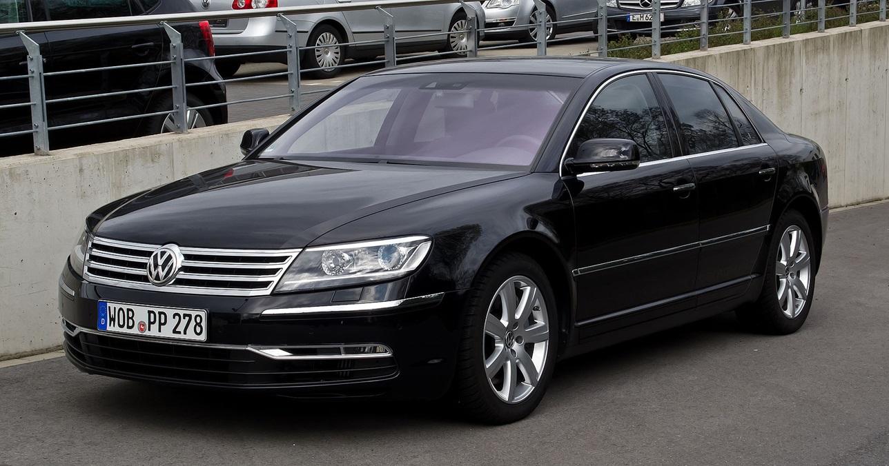 Volkswagen Phaeton после второго рестайлинга