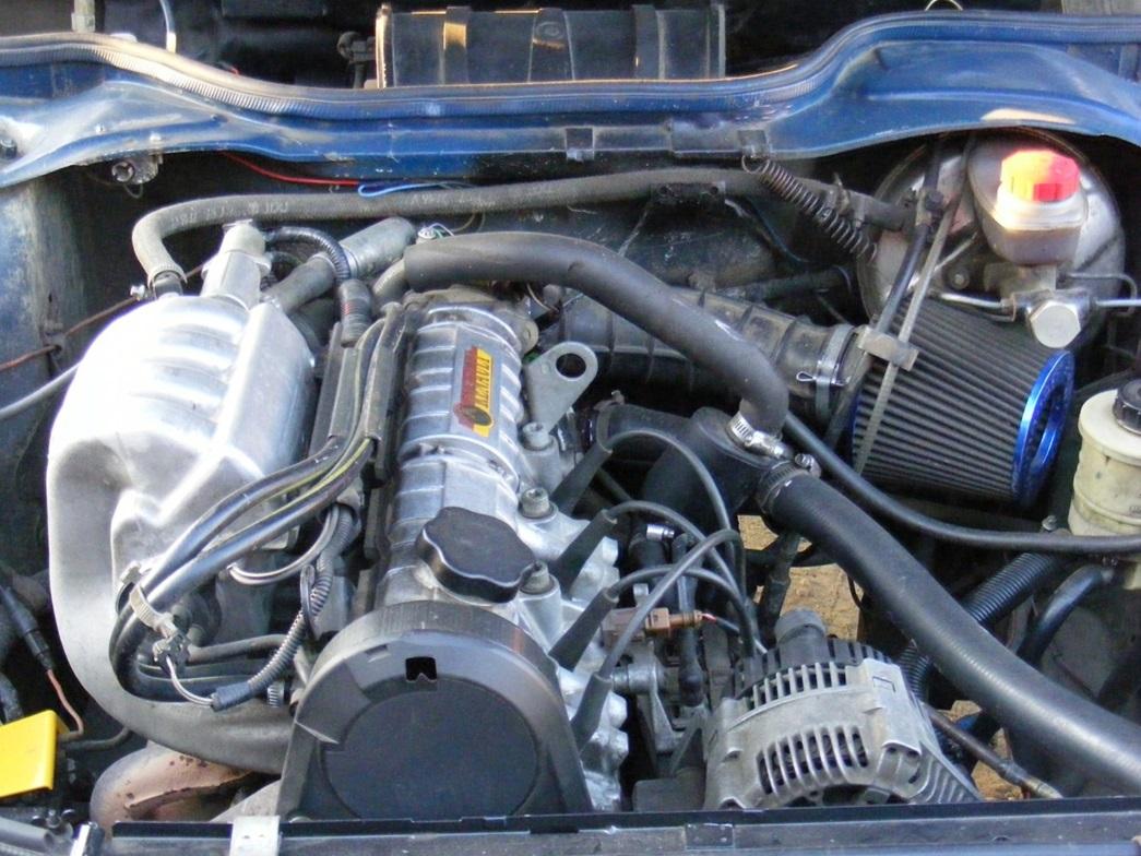 Поверхностный тюнинг двигателя F3R