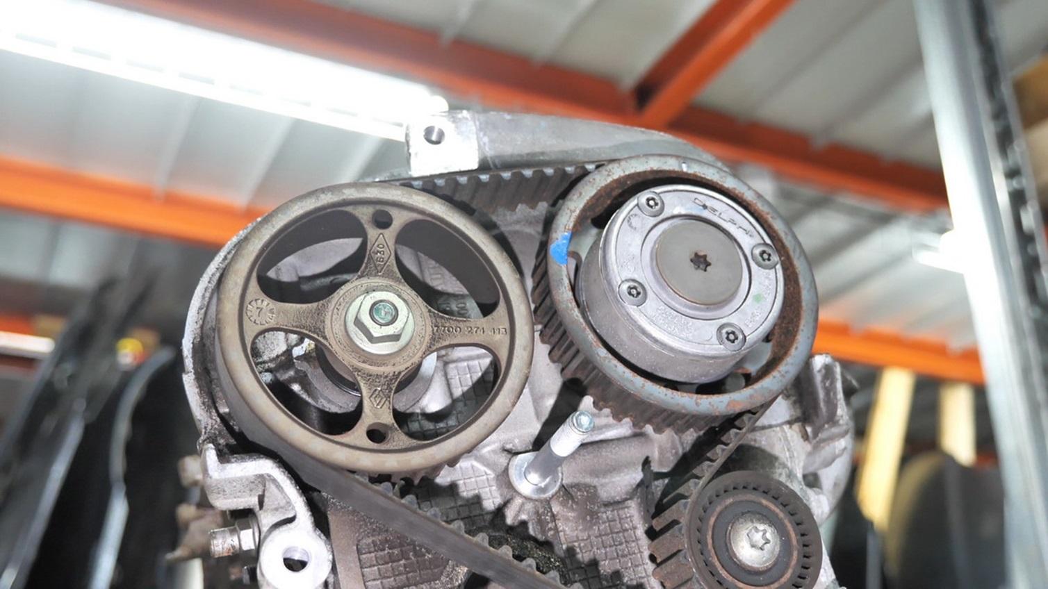 Привод ГРМ двигателя K4M