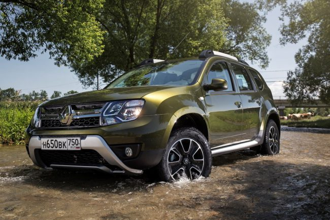 Renault Duster после рестайлинга