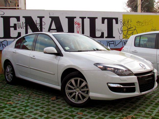 Renault Laguna после рестайлинга