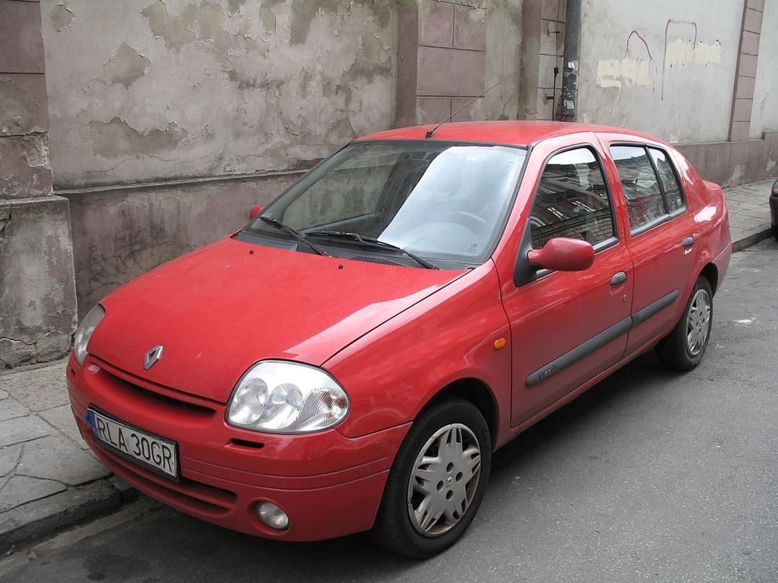Renault Symbol первого поколения
