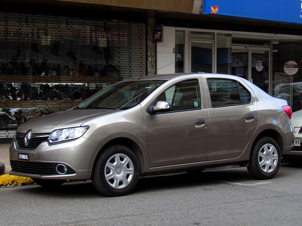 Третье поколение Renault Symbol