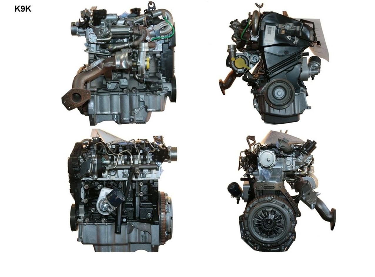 Внешний вид дизельной силовой установки K9K