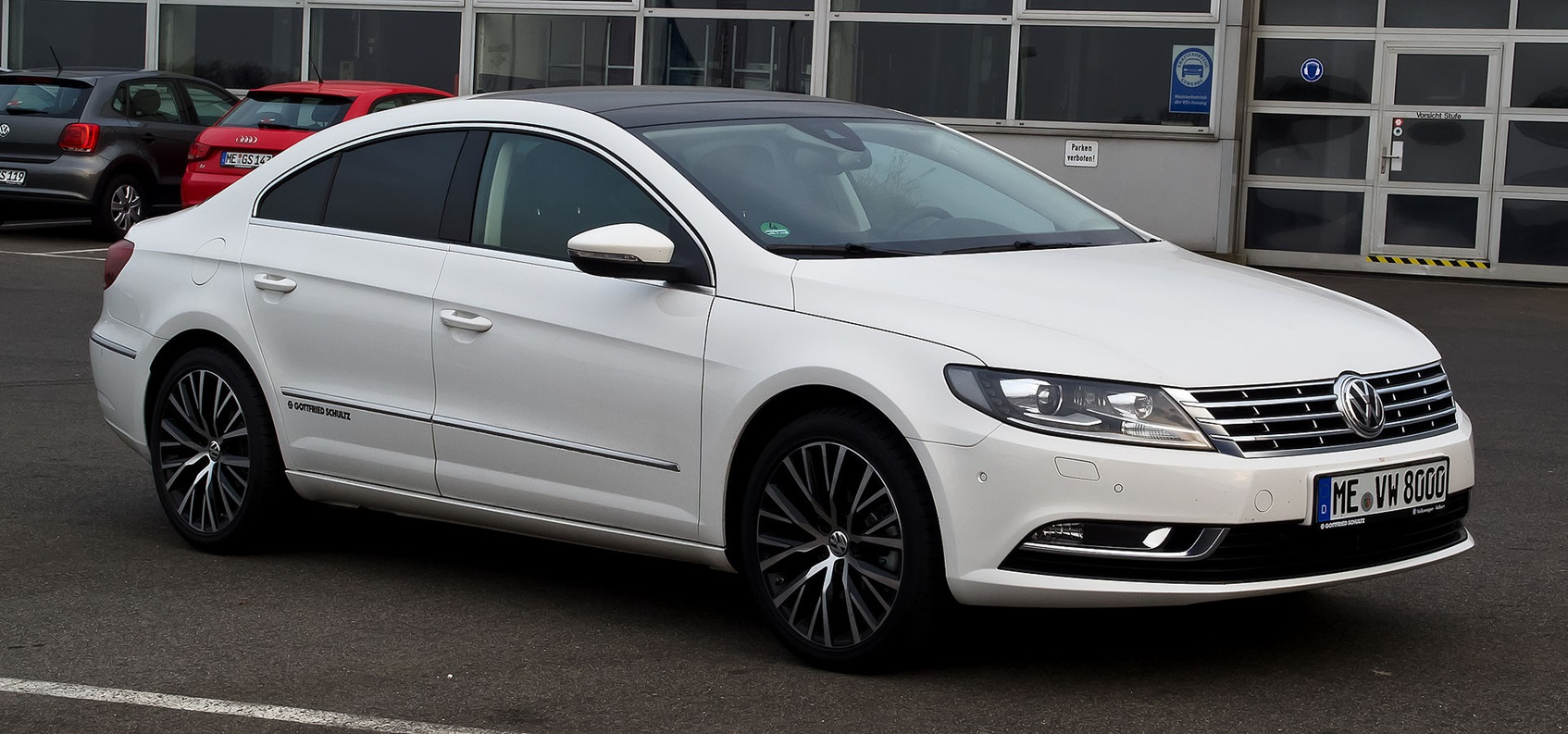Volkswagen Passat CC после рестайлинга